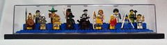 LEGO Collectible Minfigures Series 2 in Display Case (notenoughbricks) Tags: lego witch vampire surfer explorer lifeguard cm collection minifigs mime skier spartan popstar ringmaster displaycase discostu pharoh series2 trafficcop weightlifter popsinger martialartschampion discoguy discodancer patrolofficer karateguy collectibleminifigures legocollectiblemnifiguresseries2 mexicanhombre