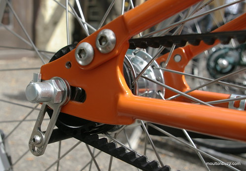 Moulton TSR2 Belt Tensioning