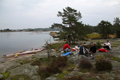 Paddling Sv (Anders Sellin) Tags: summer vacation water sweden sverige paddling vatten archipelago kajak sommar skrgrd semster vlar paddla sv