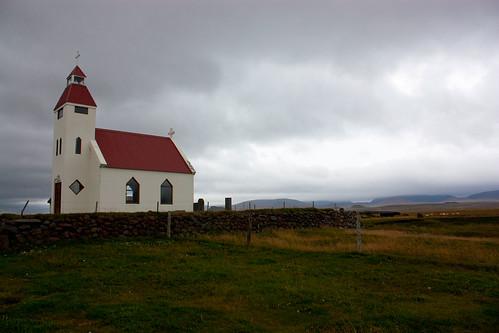 typical Icelandic church