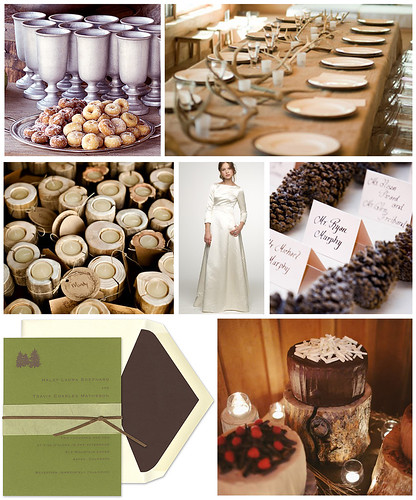 Rustic Lodge Wedding Details