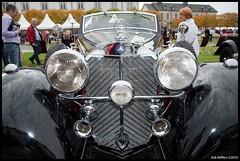 Mercedes-Benz 540 K Cabriolet A (1937) (E82W) Tags: auto car k deutschland nikon mercedesbenz schloss  540 1937 cabriolet   d90 bensberg a