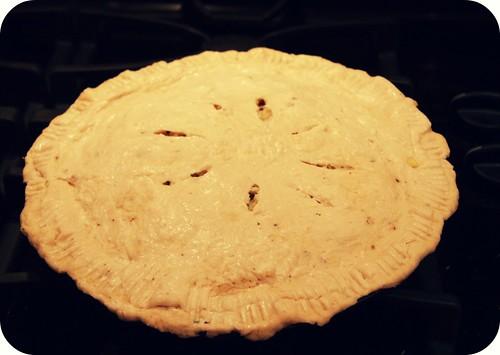 unbaked tomato pie