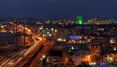 Haifa At Night (NatashaP) Tags: longexposure night lights cityscape explore haifa 50mmf18d interestingness239 superaplus aplusphoto