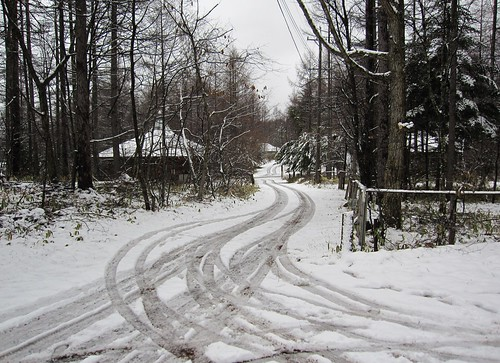今年二度目の雪 2009年11月17日13:23 by Poran111