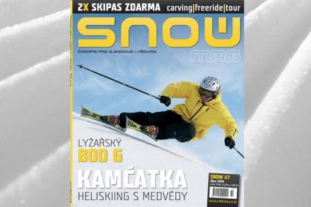 SNOW 47 + 2X SKIPAS ZDARMA