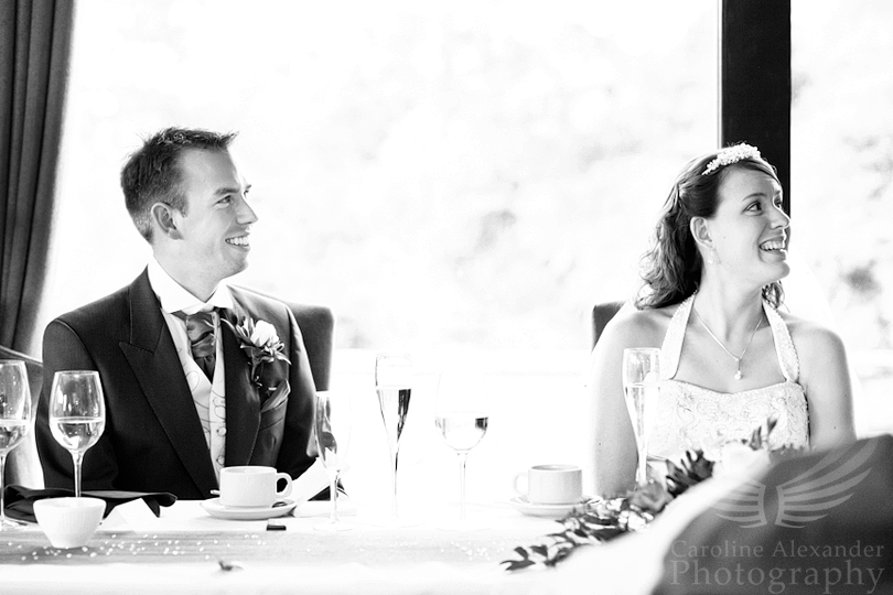 Gloucestershire Wedding Photographer Hatton Court Hotel Speeches 27