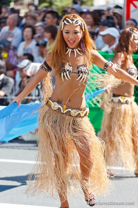 2010 Asakusa Samba Carnival Parade Japan Tokyo Sexy