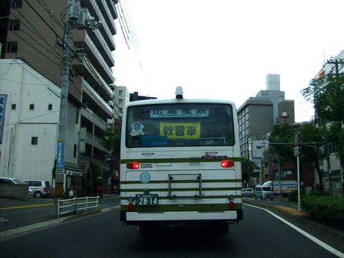 バスの運転手 自動車教習3