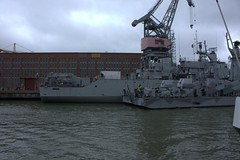 HSWMS VISBORG A265 and HSWMS GVLE K22 and HSWMS SUNDSVALL K24 (PP from Fin) Tags: sea water su