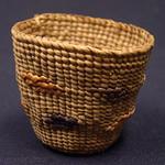 "<b>Spruce Root Basket</b><br/> Ida Hopkins Kadashan Spruce Root Basket (ivory, ca. 1976) LFAC#2008:01:45<a href=""http://farm5.static.flickr.com/4150/4996992726_b04244b2e5_o.jpg"" title=""High res"">∝</a>"