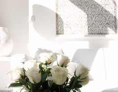 Happy Friday (Iro {Ivy style33}) Tags: flowers roses sunlight white ikea morninglight penthouse ourhome happyfriday loungearea welivehere inlovewithwhite