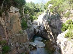 Entre le pont IGN 300 et la confluence Quercitella : vues diverses