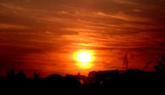 sunset. (Nay Hoffmann) Tags: fimdetarde solpordosol
