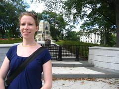 Nicole goes to Washington