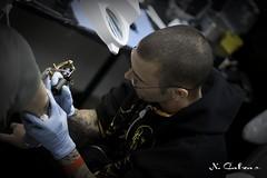 Tattoo art fest Paris 2010 (N.Calzas) Tags: paris france tattoo canon convention salon tatoo 2010 tatouage 50mmf18 calzas 400d tattoartfest
