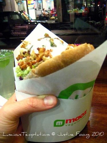 Maoz Falafel Sandwich - Maoz, Soho