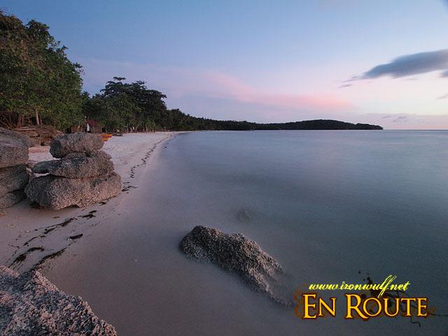 Quiet dusk at Gumasa Beach Sarangani
