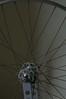 Wheel - before (Matthew Byrne) Tags: bike wheel hub vintage cycling nipples spokes cleaning cycle record restoration rim truingstand degreasing campagnola truing wheeltruing