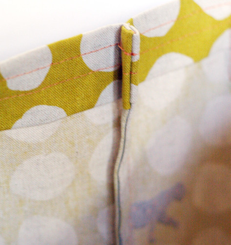 Home Ec Project #2: Totebag [French seams]