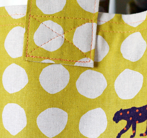 Home Ec Project #2: Totebag [stitch detail]