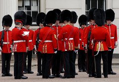 Img0041030pp (veryamateurish) Tags: london army military british changingoftheguard royalguards grenadierguards guardsdivision footguards householddivision changingtheguard wellingtonbarracks guardmounting