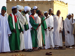 Sufi muslims remove shoes - Omdurman - Khartoum
