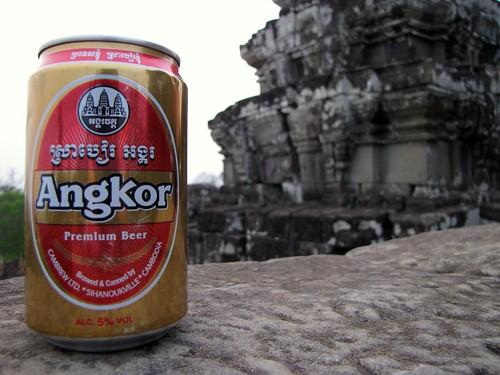 Angkor Wat Beer at Angkor Wat