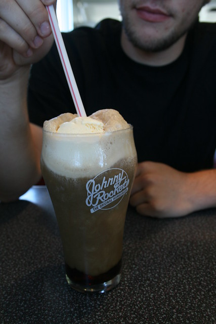 david's rootbeer float