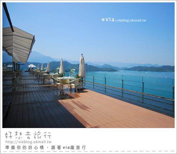 【南投】欣賞日月潭最美角度的餐廳~雲品酒店雲月舫9