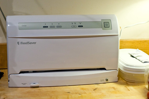 Pasta Maker Review: vacuum sealer - LOVE it