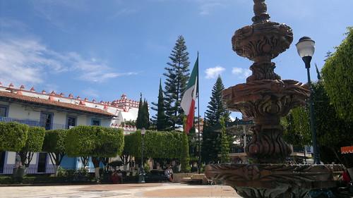 Ixtapan de la Sal main square
