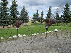 Damm near life size (jimsawthat) Tags: alaska funny sculptures mosquitoes alaskahighway deltajunction ithinkthisisart