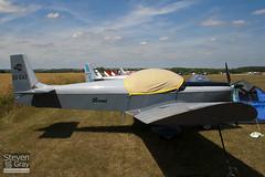 OO-G47 - 6-3182 - Private - Zenair CH-601 Zodiac - 100710 - Fowlmere - Steven Gray - IMG_6677