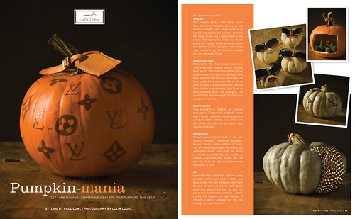 Sweet Paul, magazine, Fall, issue 2010, sweet, halloween, orange, autumn, design 9