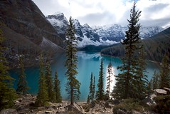 Moraine Lake (jtsteeves) Tags: park lake glacier national banff banffnationalpark morainelake rockflour