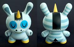 3inch zebracorn dunny. (steen182) Tags: toy vinyl donkey kidrobot zebra unicorn vinyltoy toyphotography amandavisell zebracorn vinyltoycollection dunnyfataleseries