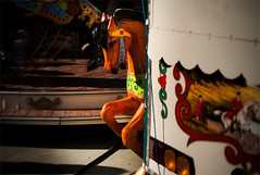 Fugitivo (albertopveiga) Tags: caballo guadalajara fiestas ferias caballito tiovivo