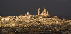 Highlighting Sacre Coeur (satosphere) Tags: paris france europe eiffeltower montmarte lesacrecoeur parisregion sigma70300mmf456 sonydslra100