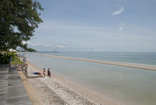 乾淨的沙灘
