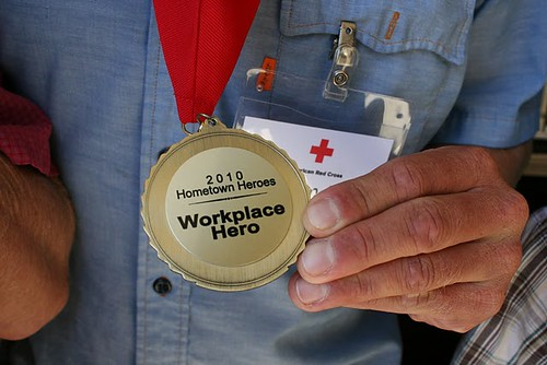 RED CROSS Hometown Hero Award for WET River Trips Guides