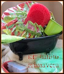 KIT BANHO PRIMAVERA (Natural Emporio do Banho Soaps,since 2004) Tags: soap artesanal kit sabonete touca kitbanho toucadebanho bathitens bathtubandshowercap