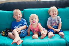 Cousins (akules) Tags: cousins houseboat notmykid mykids 11months myniece brody 18months floridavacation tristen rylee 3yrs