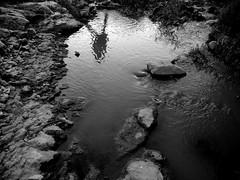 Lei ha sempre Ragione. (pas.M) Tags: white black nature water dark la nikon fiume natura bn e coolpix and sassi acqua bianco nero massi gravina oscura torrente s4000