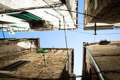 Between the narrow streets (ole) Tags: street sky europe croatia spit wideangle split hvratska
