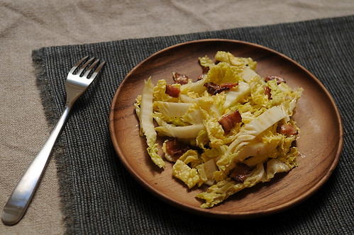 Salad with Hot Bacon Dressing