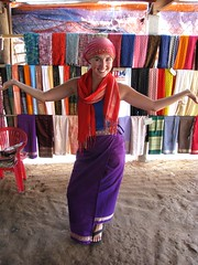 Cham Muslim Minority Village - Ash Exhibiting Traditional Garments