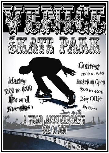 venice skate park one year anniversary