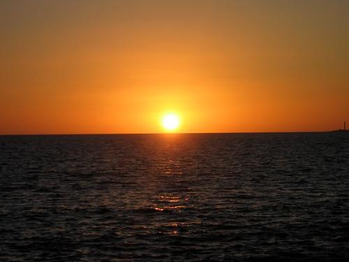 Puesta de sol en Papagayo