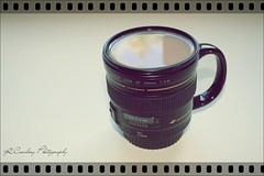 Canon cup of tea (Richard Cowdrey) Tags: film cup canon lens eos tea hampshire havant 450d 400d richardcowdrey